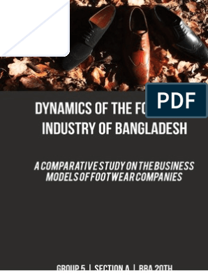 Footwear Industry Bangladesh - A Comparative Study | Competition