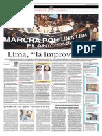 """Lima, """"la improvisada"""""""