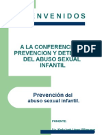Prevencion de Abuso Sexual Infantil