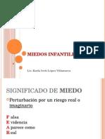 MIEDOS INFANTILES CONFERENCIA