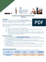 Programa Curso Excel 2010 Nivel Avanzado Con Visual Basic