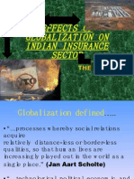 Effects of Globalization on Indian Insurance Sector