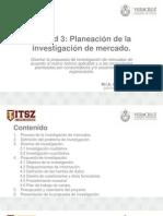 Planeacion de La Investigacion de Mercados v1 1