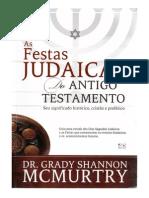 As Festas Judaicas Do Antigo Testamento - Dr. Grady SHannon Mcmurtry