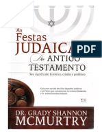 As Festas Judaicas Do Antigo Testamento - Dr. Grady SHannon Mcmurtry