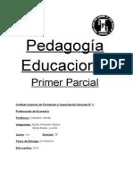 Pedagogía Educacional