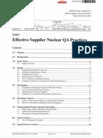 Bechtel Guide - Effective Supplier Nuclear QA Practices 06-09-11