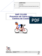 SAP CO 520 Ejercicios
