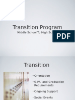 transition program 4 2015