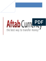 Aftab Currency Exchange Internship Report