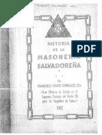 Historia de La Masoneria El Salvador