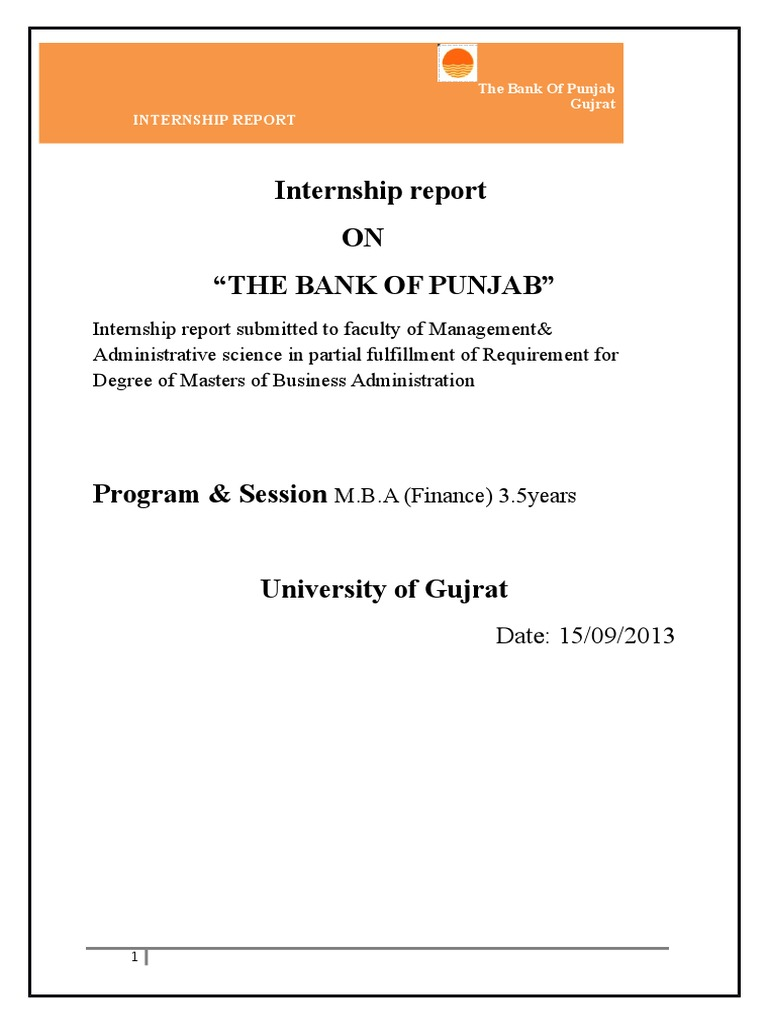 The bank of punjab internship report cheque pakistan thecheapjerseys Images