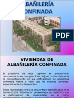 Construccion i y II - Descripcion de Albañileria Confinada - Ppt