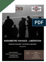 Viavoice Liberation Fevrier 2010