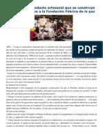 Francisco- Palabras en Encuentro Con Niños Italianos 11-5-15 La Paz Es Un Producto Artesanal Que Se Construye Día a Día