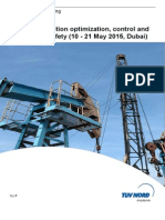 Production optimization, control and Operational Safety