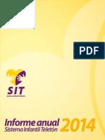 Informe Anual TELETÓN 2014