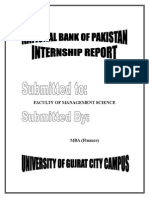 National Bank of PAKISTAN Best Internship Report