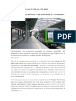 Tren electrico beneficios (noticia)
