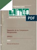 Operación de Los Compresores Reciprocantes OP651 (IHRDC)