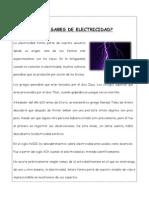 Lectura Historia Electricidad