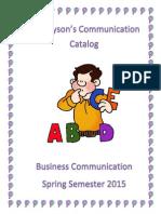 communications catalog deja