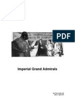 Star Wars Who is Who Imperial Grand Admirals