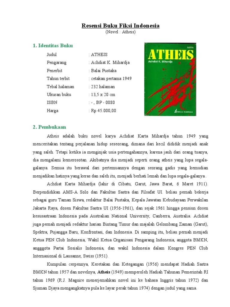 Resensi Buku Fiksi Indonesia