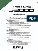 KAWAI FS2000