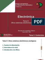 Electronica T5 Otros Sistemas Electronicos Analogicos