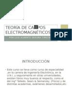 Teoría de Campos Electromagnéticos