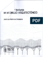 Tecnicas y Texturas en Dibujo Arquitectonico - Jose Luis Marin de L