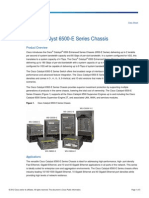 Data Sheet Cisco Catalyst 6500-E Series Chassis