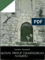 Marasović - Aktivni Pristup Graditeljskom Nasljeđu