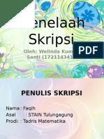 PPT Menelaah Skripsi 3