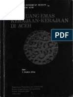 Mata Uang Emas Kerajaan Aceh