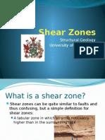 Shear Zones