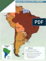 Mapa de Sudamérica