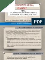 SANEAMIENTO LEGAL INMUEBLE.pptx