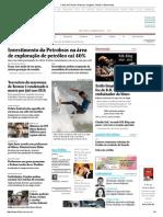 Investimento Na Petrobras