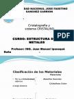 CLASE 5 Cristalografia Ipanaque