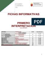 fichas Informativas Primero Interpretación