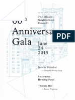 TBNC 60th Gala Celebration Invitation