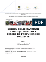 Ghidul Solicitantului DMI 3.1 Strategice Apel 2 Conditii Specifice 92