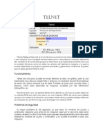 Telnet, SSH y FTP