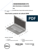 Dell Latitude-E6530 Setup Guide Es