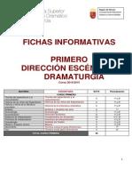 Fichas Informativas Primero Direccion