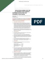 BA-BSc Degrees Classification Scheme