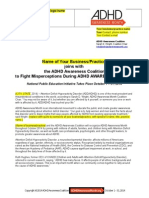 ADHD Awareness 2014 Press Release 3