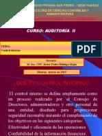auditoria control interno